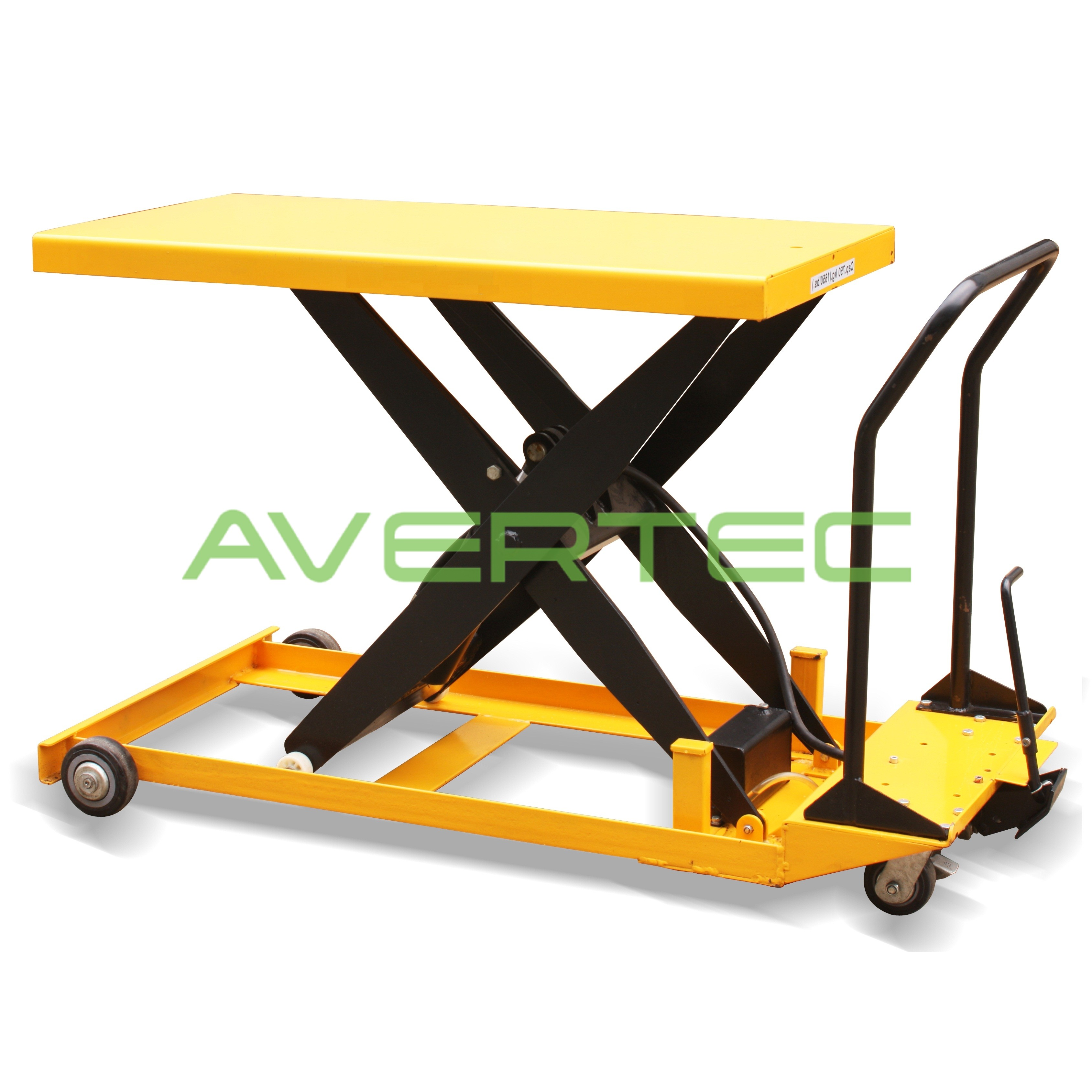 product with by profile conveyor wide table scissors lift long spp low powered