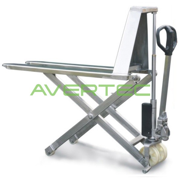 Stainless Steel Forklift : Stainless steel scissor lift pallet truck malaysia